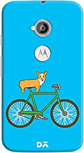 DailyObjects Biking Corgi Case For Motorola Moto E2