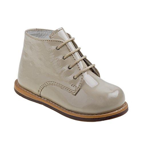 Beige Ostrich - Josmo 2-8 Patent Ostrich Walking Shoes (Beige Patent Ostrich, 4.5)
