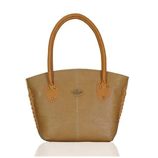 Fantosy Womens Handbag Beige And Tan FNB426