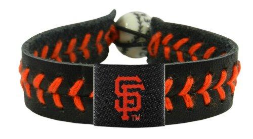 MLB San Francisco Giants Team Color Baseball Bracelet