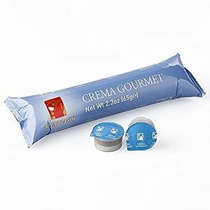 10 Capsule Hausbrandt Caffè Crema Gourmet. Miscela di caffè 100% Arabica tostato e macinato confezionato in capsule monodose