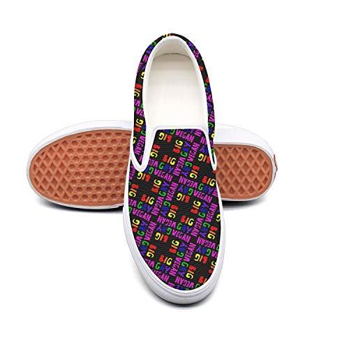 (Big Gay Vegan black white Fashion Sneakers Women for Women nursing Quick-Drying Running Shoes )