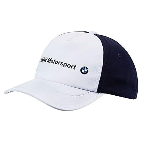 Amazon.com  Puma BMW Motorsport White Logo Hat  Sports   Outdoors f5aee8a34a3
