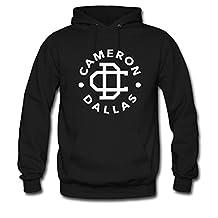 JUHYG Unisex Men's or Women's Custom Cameron Dallas logo Classic Hoodie