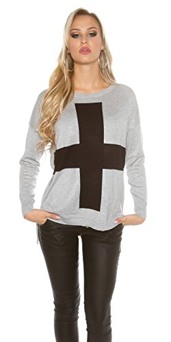 In-Stylefashion - Jerséi - para mujer gris