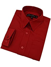 Amazon.com: Red - Button-Down & Dress Shirts / Clothing: Clothing ...