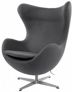 Famous-Design Egg Chair Arne Jacobsen - Orange: Amazon.co.uk ...