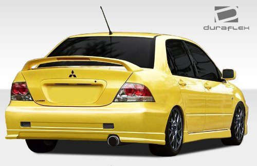 Duraflex Replacement for 2004-2007 Mitsubishi Lancer C-2 Rear Bumper Cover - 1 Piece ()