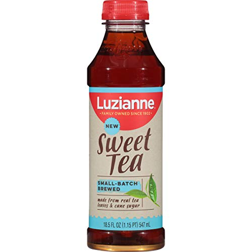 Luzianne, Ready To Drink Sweet Tea, 18.5 oz. (Pack of 12) (Best Bottled Teas To Drink)