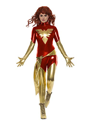 Rubie's Women's Standard Marvel X-Men: Dark Phoenix Costume, as as Shown Small ()