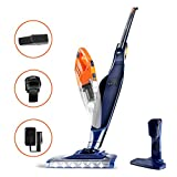 Orfeld Cordless Vacuum Cleaner, Stick Vacuum 2 in 1, Lightweight Bagless Vacuum with Ultra Wide LED Motor Brush, Hepa Filter, Rechargeable Li-ion Battery, up to 40 Minutes' Runtime, for Home and Car