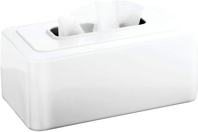 Home Organization Storage Rectangular Tissue Box Cover Holder Sunflower and Poppy Metal tissue holder