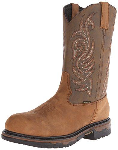 Laredo Men's Waterproof H2o Western Work Boot Soft Toe -  68112 9.5D
