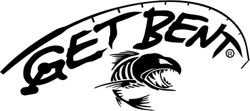 Get Bent Now Fishing Decal (Black)