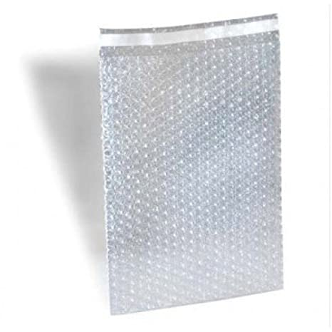 1000 3 x 3.5 Clear Bubble Out Bags Protective Wrap Pouches 3x3.5 Self Seal By ValueMailers VM3.10BP