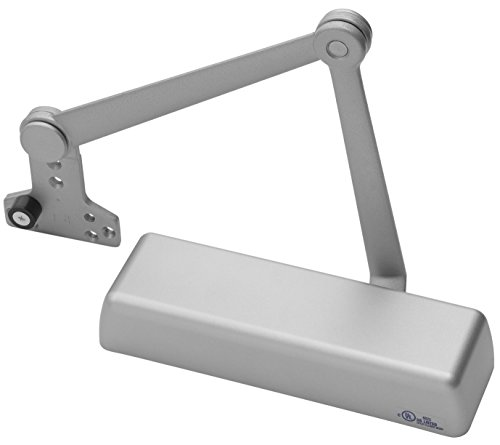 Yale 5821 x 689 Door Closers, Cast Iron Body, 689 Painted Aluminum Finish, Stop Arm, Full Cover, Door Sizes 1 to 6 by Yale