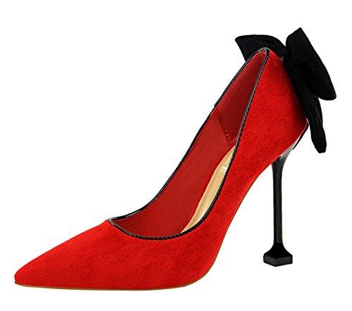 EU Femme Sandales DS17175 Miyoopark 2 5 MiyooparkUK Red Rouge 36 Compensées v4Xttwxnq