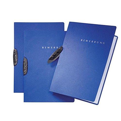 Pagna 20 x Bewerbungsmappe Swing 2-teilig blau blau blau B00CPJJLZ4 | Hohe Sicherheit  a902b3