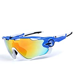 Great for Golf, Cycling, Driving, Skiing, Runing, Tennis, Racing and Other Outdoor SportsBrand Name:Ting room Lens Height:58mm Gender:Men Lens Width:155mm Lenses Optical Attribute:Polarized Anti-UV Model Number:Cycling glasses Sport Type:Cycl...