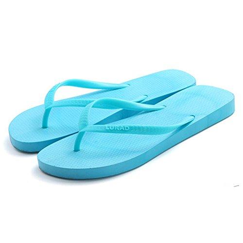 XIAOLIN sandali con estivo Estate casual puro antiscivolo Scarpe Colore 05 Sandali donna piatte dimension da clip Piatto semplici di spiaggia da 05 Colore Pantofole formato colore con facoltativo AAr0Yq