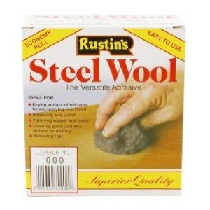 Rustins Steel Wool Grade No 000 150g