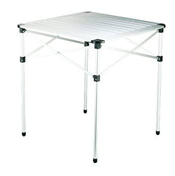 Grand Canyon Table Camping Table Foldaway Aluminium 70 X 70 X