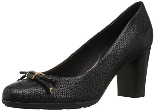 Geox D Annya a, Zapatos de Tacón para Mujer (Black C9999)