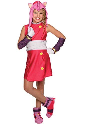 Rubie's Sonic Boom Amy Child's Costume, Medium ()