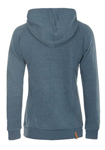 Jana Hoodie Women's Ensign Up Sweater Zip with Blue BlendShe Jacket Hood Hooded qxfd6n