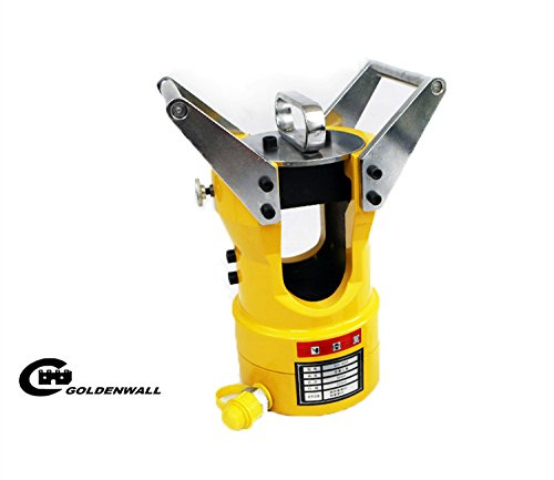 CGOLDENWALL  CO-60S大型手動電動油圧式圧着ペンチ ACSR圧着工具 圧着能力:67mmまでのアルミ套管、31.7mmまでのスチール套管 60T (ダイス付き) B077NDWCX2