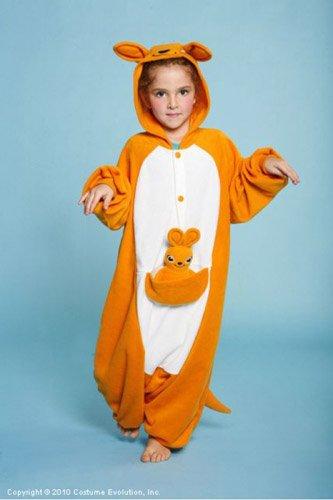 [Kangaroo Child Costume Size One-Size (2T-6) Size One-Size (2T-6)] (Childrens Kangaroo Costume)