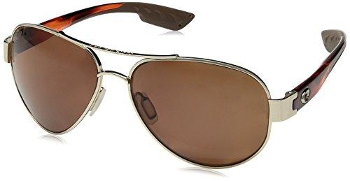 Costa Del Mar South Point Sunglasses, Gold, Copper 580Plastic - Men Costa Sunglasses For