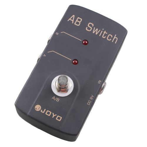 JOYO JF-30 A/B Switch Guitar Effect Pedal True Bypass AC Ada