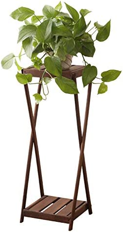 植物スタンド フラワースタンド1屋内植物スタンド木製フラワーディスプレイ多機能フラワーディスプレイ 花台植物スタンド QFLY (Size : A)