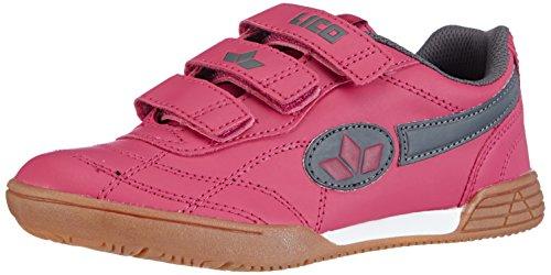 Lico Bernie V, Mädchen Hallenschuhe, Pink (pink/grau), 33 EU