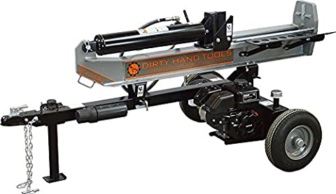 Dirty Hand Tools 100408, 27 Ton Horizontal/Vertical Gas Log Splitter with 196cc Kohler SH265 Engine (Hand Powered Tools)