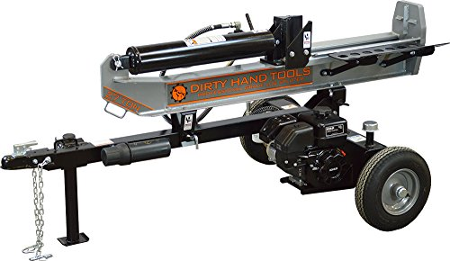 Dirty Hand Tools 100408, 27 Ton Horizontal/Vertical Gas Log Splitter with 196cc Kohler SH265 Engine by Dirty Hand Tools