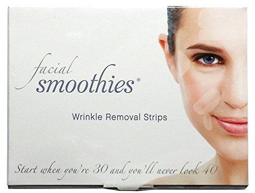 Facial Smoothies sind Falten entfernende Pflaster - Antifaltenpflaster - Anti-Aging Behandlung - Anti-Falten