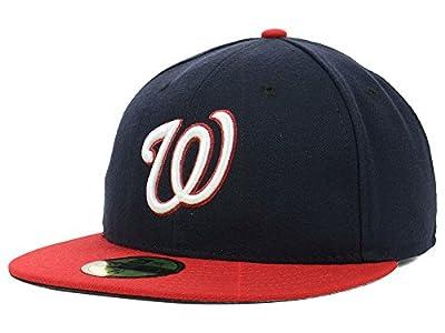 New Era MLB Washington Nationals 59fifty On Field Fitted Basecap Herren Men