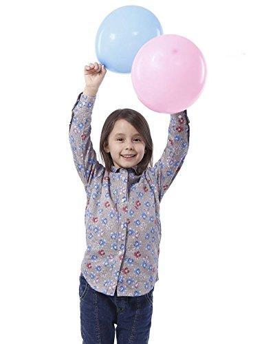 ZAROI Girls Long Sleeve Shirts 100% Cotton Floral Print Pete