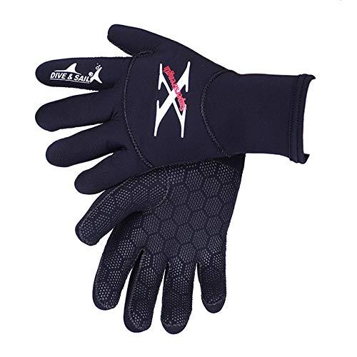 MO MOKER 2MM Neoprene Diving Gloves High Elastic Men Women Waterproof Non-Slip Snorkeling Surfing Spearfishing Swimwear Keep Warm,L