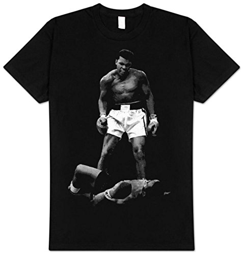 Muhammad Ali Men's Ali Over Liston T-Shirt 2XL