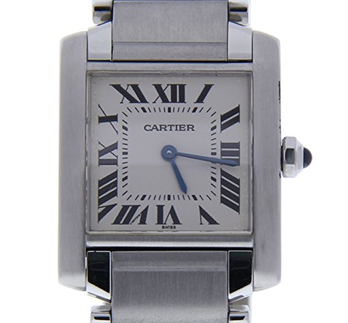 Cartier Tank Francaise quartz womens Watch 2301 (Certified Pre-owned) by Cartier
