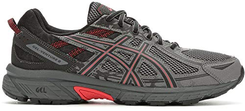 ASICS Men's Gel-Venture¿ 6 Carbon/Cayenne 11 D US