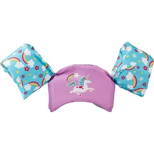 (SwimWays Kids' Sea Squirts Swim Trainer Unicorn Life Jacket)