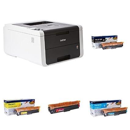 Brother HL-3150CDW - Impresora láser color + Pack de 4 ...