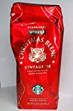 2018 Starbucks Christmas Blend Whole Bean Coffee - 16 Ounce