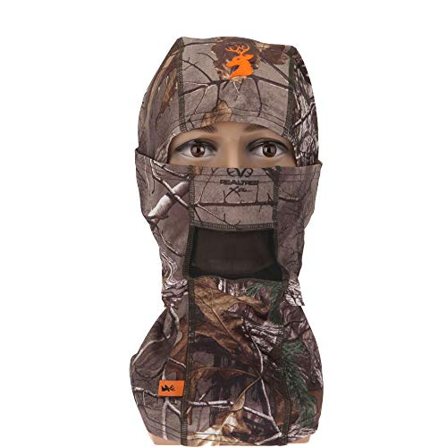 SPIKA Camo Balaclava Hunting Hood Headwear Military Tactical Helmet Face Mask for Cold and Cool Weather ()