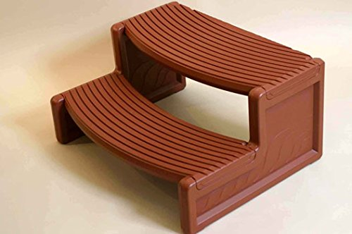 Leisure Accents - Leisure Accents Handi-Step for Spa (Mahogany)