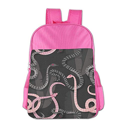 (Colorful Intertwined Snakes Backpack Travel Outdoor School Backpack for Kids Baby Boy Girl )